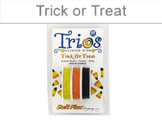 Trick or Treat SoftFlex Beading Wire Trios
