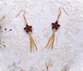 Holiday Stars Jewelry Making Earring Kit