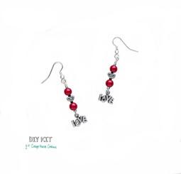 In Love ~ Beaded Earring Kit