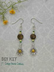 Sunflower Earring Kit