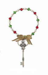 Santa's Magic Key ~ Beadable Doorknob Hanger Kit