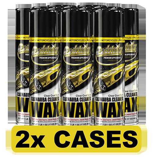 Carnauba Wax Cleaner 24 Cans
