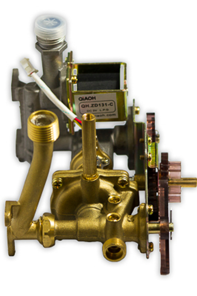L7 Gas/Water Valve Assembly Alternate View 2