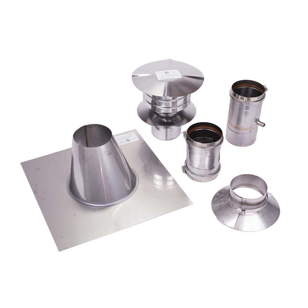 "4"" Vertical Vent Kit for Eccotemp 45HI Tankless Water Heater"