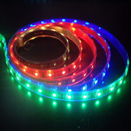 LED Waterproof Ribbon 16' Roll RGB - Color Changing