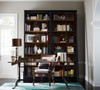 Parisian Reclaimed Wood and Cast Iron Office Desk
