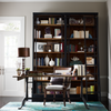French Library Reclaimed Wood and Cast Iron Office Desk