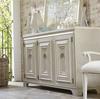 California Rustic White Oak 3 Door Credenza