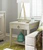 California Rustic White Oak 1 Drawer End Table