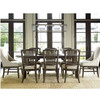 French Oak Extendable Farmhouse Dining Room Set