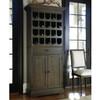 French Oak Tall Wine Bar Cabinet