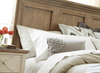 French Modern Hickory Wood King Panel Headboard Bed Frames