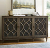 Playlist Vintage Oak 3 Door Sideboard Buffet