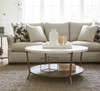 Playlist Round Stone Top Coffee Table