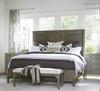 Playlist Vintage Oak Upholstered Bed End Benches