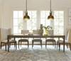 "Playlist Vintage Oak Extending Dining Room Table 103"""