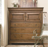 Louis Philippe Solid Wood Gentleman's Chest