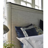 Sojourn French Upholstered Queen Size Panel Bed Frame