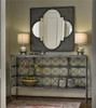 Sojourn French Country Metal Bedroom Wall Mirror