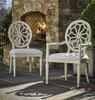 Sojourn Slip Upholstered Medallion Side Chair - Summer White