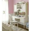 Rosalie Kids Vanity Desk with Hutch - White