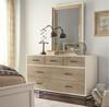 #MyRoom Modern Kids 5 Drawers Dresser- White & Gray