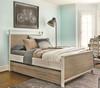 #MyRoom Modern Kids Twin Panel Bed - Gray & White