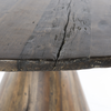 """Bronx Old Wood Round Pedestal Dining Table 54"""""""