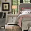 Belgian Cottage Carved 2-Drawer Nightstands - Antiqued White