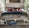 Belgian Cottage Carved Upholstered Bed End Benches