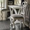 Belgian Cottage Flip Top hallway Console Table - Antiqued White