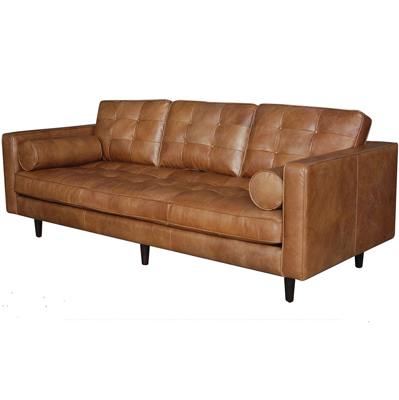 Maxwell Modern Leather Sofa Zin Home - Maxwell sofa
