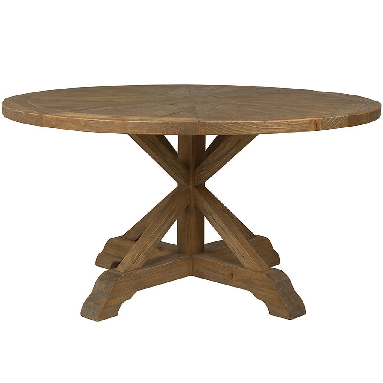 Wood Round Dining Table: Opio Reclaimed Wood Round Dining Table 60""