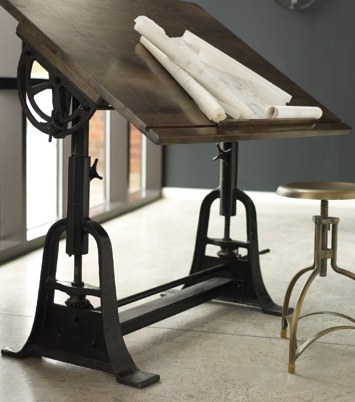 french architect drafting table | zin home
