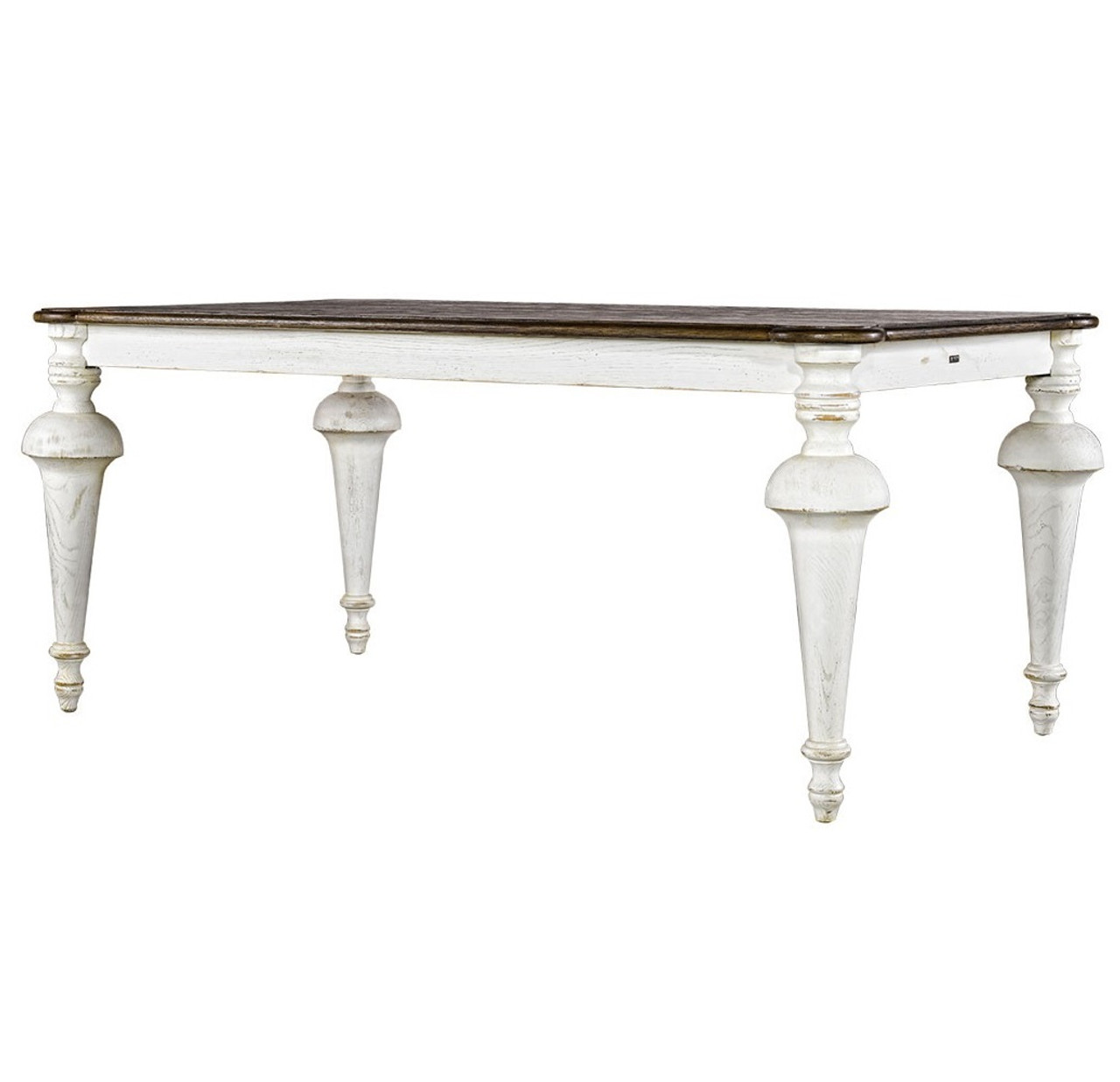 Great Spindle Antique White Dining Room Tables