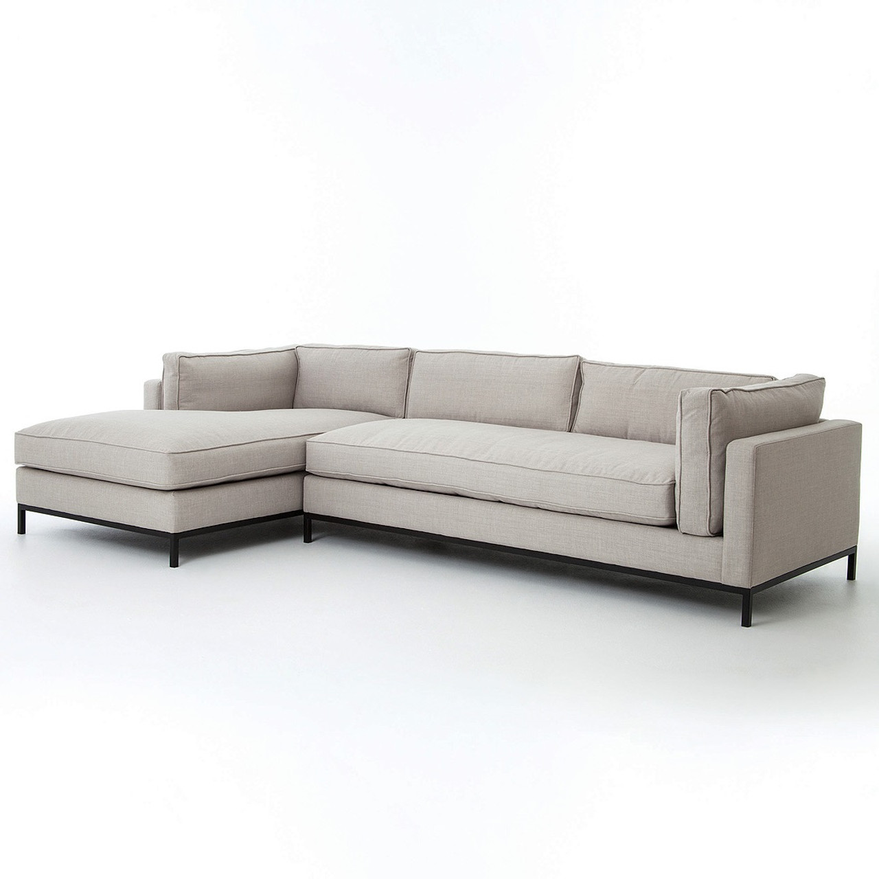2 piece sectional ashley furniture patola park patina for 2 pc sectional with chaise