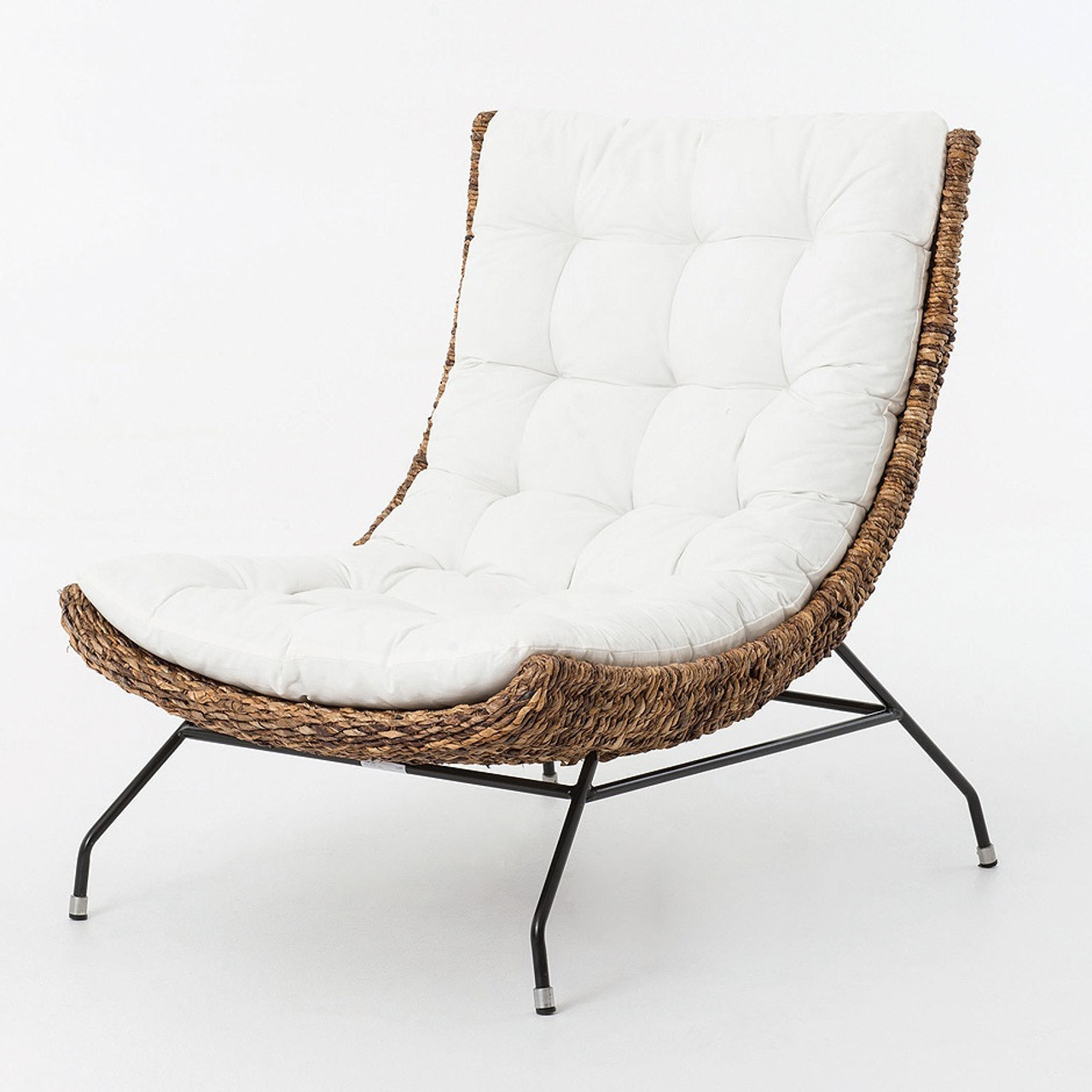 Good Banana Leaf Woven Alik Accent Chair