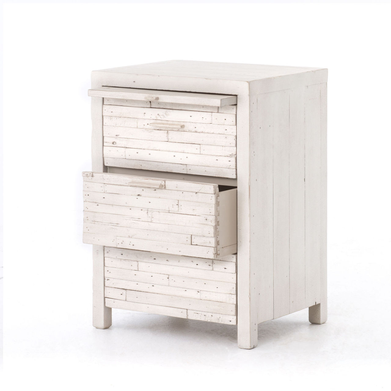 White Reclaimed Wood Nightstand The Best 28 Images Of