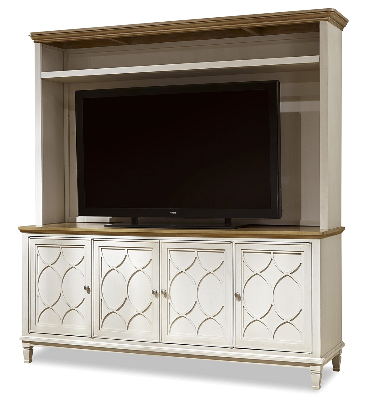 tv hutch. french modern wood 4 door tv media console with hutch tv n