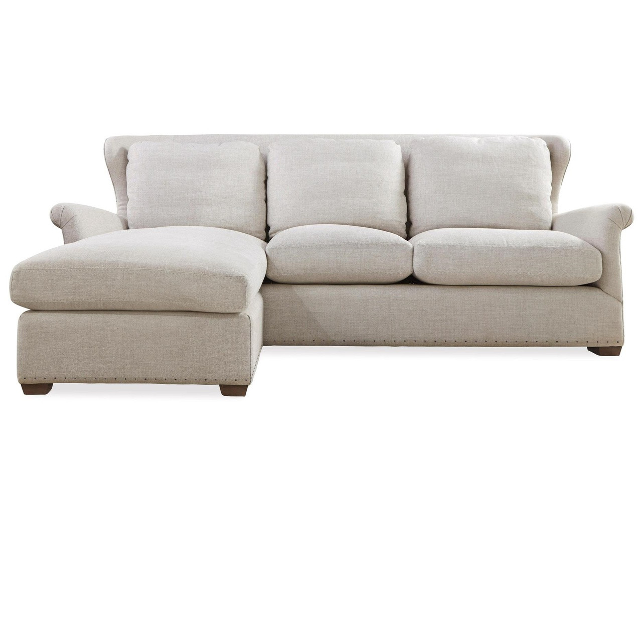 Haven belgian linen upholstered wingback sectional sofa zin home haven belgian linen upholstered wingback sectional sofa parisarafo Gallery