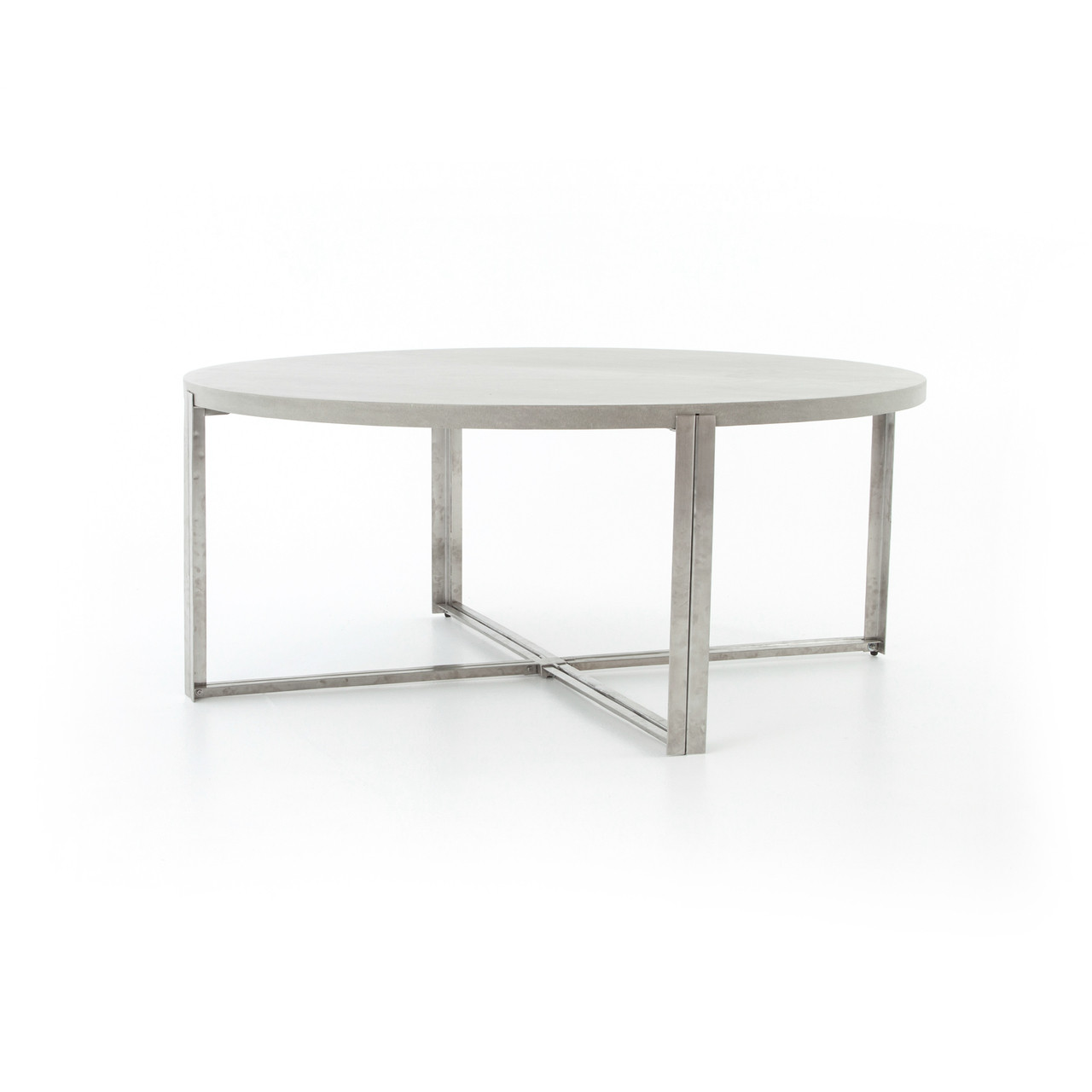 Outdoor round dining table - Colt Lavastone Outdoor 71 Round Dining Table