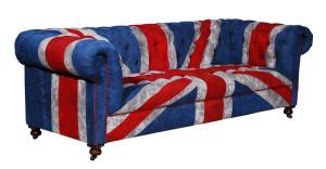 Bensington Vintage Union Jack Sofa