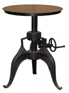 Eisen Industrial Crank Dining / Pub Table