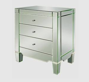 Catherine 3 Drawer Side Table