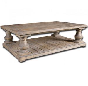 "Salvaged Wood Rustic Coffee Table 60"""