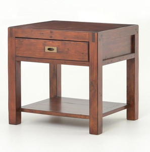 Parsons Reclaimed Wood End Table