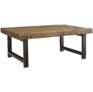 Rustica Iron Leg Coffee Table