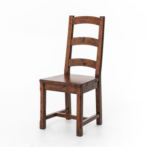 Coastal Rustic Wood Dining Room Chair