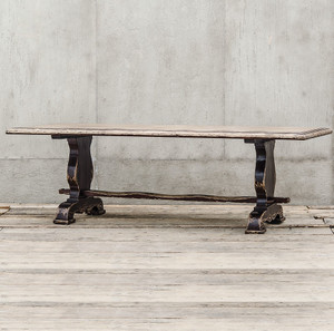 """The Indecent Proposal Solid Walnut Dining Table 113"""""""