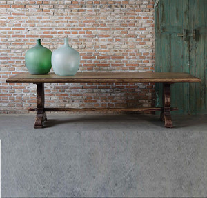 """The Indecent Proposal Solid Walnut Dining Table 98"""""""